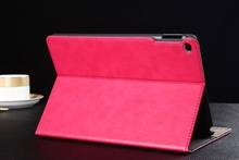 wallet leather flip case for ipad 6