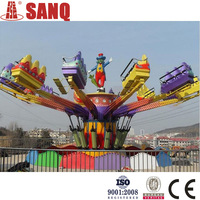 Exciting 36 persons theme park jumping machine/best price of amusement jumping machine/family rides jumping machine for sales