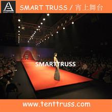 Fashion show stage equipment runway truss in truss display
