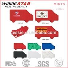 car-like Mints Breath Mint brands 40pcs creative