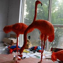 lucky lifelike plush toy miniature cheap flamingo bird