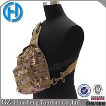 Oxford tactical CrossBody Chest bag travel hiking shoulder bag