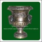 Home Decorative Cast Chinese Antique Brass Vase