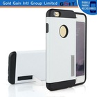 "Hot Selling Duplicate Protective Hard Case for iPhone 6 Plus 5.5"" Cover with Kickstand"