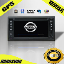 HANOSVOR China Factory Directly Sale Toyota/Hyundai Universal 2 Din Car DVD Player with GPS Bluetooth