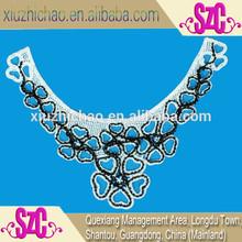 Ladies kameez neck design with lace work