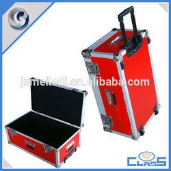 Luggage, Bags & Cases Durable heavy duty black PVC aluminum flight case