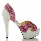 CATWALK-S1360247 ladies fancy comfort shoes heel diamond sexy high heels new arrival 2015 women shoes