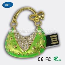 fancy crystal jewelry flash drive usb
