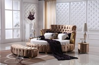 2014 New Fashionable king size round bed on sale