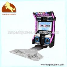 Best selling Danz Base electronic simulator dance music machine/amusement arcade video game