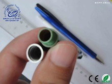 translucent green color ball pen for beer promotional gift