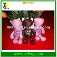 custom logo OEM bear foldable tote shopping bags