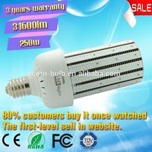 LED 250W Corn light e39 high bay external driver 250W Corn light 20~250W Post top retrofit off road