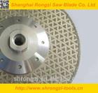 Rongzi Electroplated diamond cutting saw blades for Granite/Quartz stone cutting