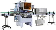Glass bottle shrink labeling machine/sleeve shrink labeling machine
