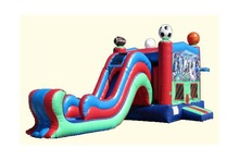 inflatabe bouncer house slide type home use inflatable water slides