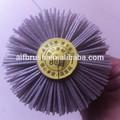 fournisseur de la chine vente chaude abrasif monté en bois brosse de polissage de roue