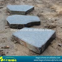 landscaping split basalt bricks and pavers
