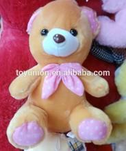 Promocional atacado urso de pelúcia para venda / 30 cm pelúcia barato traz