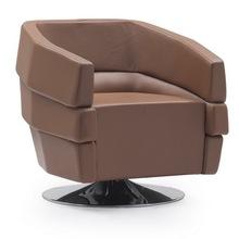 home office 2014 fashion design pu sofa armchair for restaraunt