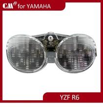 For Yamaha R6 2001 2002 smoke lens motorcycle led tail lights