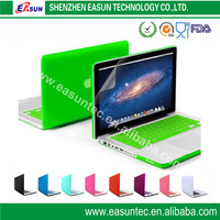 2014 factory price new plastic crystal cases for macbook,Rohs certificate