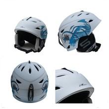 2014 hot sale custom face ski helmet