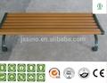 wpc في الهواء الطلق حديقة كرسي خشبي مع المواد البيئية