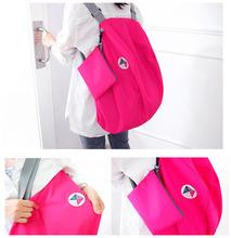 Multifunction Portable Foldable Travel Organizer Bag Folded Shopping Bag