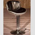 Vintage Aviation Genuine Leather Bar Stool