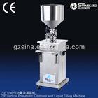 sinaekato good sell semi-automatic cream and liquid filling machine(vertical, different model)