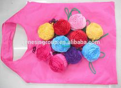 new cheap foldable flower reusable shopping bag