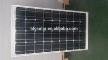 Good Quatliy/High efficiency 12v 75w solar panel price for street light