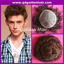 Golden Hair High Quality Virgin Remi Cuticle Human Hair Hair Piece