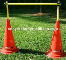 soccer training speed agility cone hurdles