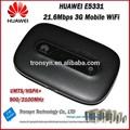 router inalámbrico original desbloqueada HSPA + 21.6Mbps HUAWEI E5331 menor Precio de bolsillo WiFi 3G con la tarjeta de Sim