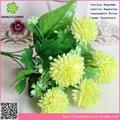 Crisântemo flor artificial bola para o natal de flores no atacado