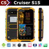 Rugged phone Cruiser S15 gps tracker senior cell phone
