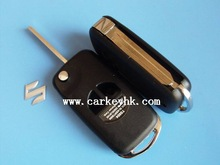 SHOCK PRICE &Aftermarket Old Suzuki Swift 2 buttons flip key case for suzuki grand vitara