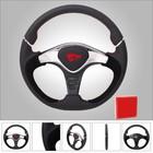 Alibaba China Leather Black Tuning Car Steering Wheel GTR2 for Game Car/Racing Car/Boat Car/Golf Car Steering Wheel (RC-5149)