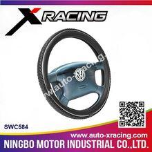 Xracing-2015 SWC584 PU Car Steering Wheel Cover/Practical Universal 13 Inch Steering Wheel Cover