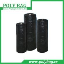 Large Black Printed Garbage Polythene Bag on Roll