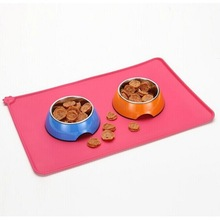 floor anti dirty pet fed mat, lead pet fedding mat