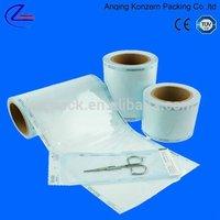 Heat Sealing Medical Health Sterilization Flat Pouches Eto Sterilization for Sterilization / Medical Equipment