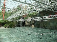 pvc truss roof system, aluminum truss wedding tent,ceiling lighting truss