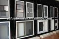 Anti- vol Écran portes et fenêtres bullet proof 316l matériau résistant au feu
