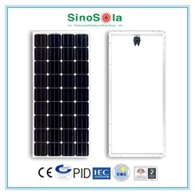 Reliable ,16% efficiency ,good price mono pv module 120w with long lifetime