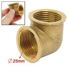 Qingdao zehan little order qingdao Water Tube 25mm 90 Degree Female Threaded Brass Pipe Elbow