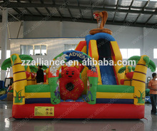 inflatable fun city for kids party renting slide jumping slide